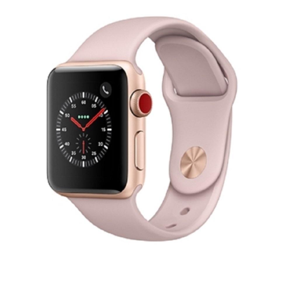 《福利品》Apple Watch Series 3 -38m鋁金-粉(SPY)無外盒包膜