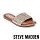 STEVE MADDEN-FIREWORK 歐美精緻水鑽一字拖鞋-銅色 product thumbnail 1