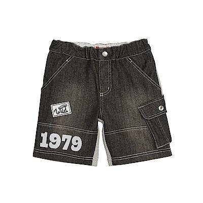 WHY AND 1/2 拼接牛仔短褲 5Y~10Y