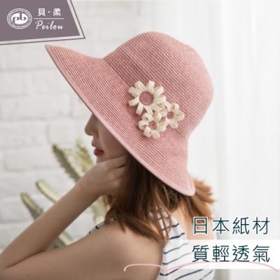 貝柔法式鄉村編織圓帽(2色可選)