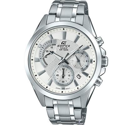 CASIO EDIFICE 扇形逆跳計時腕錶(EFV-580D-7A)