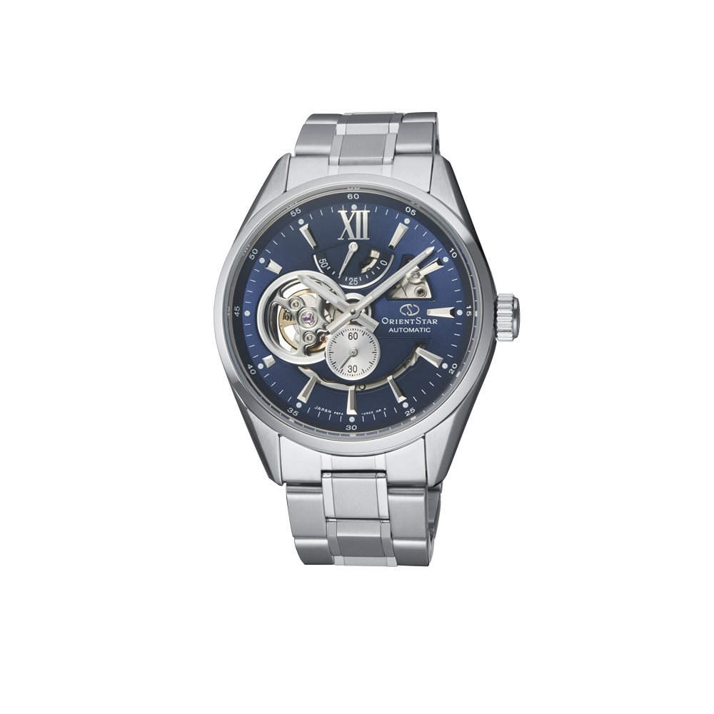 Orient Star 東方之星 天將雄師 簍空機械錶(RE-AV0003L)藍-41mm
