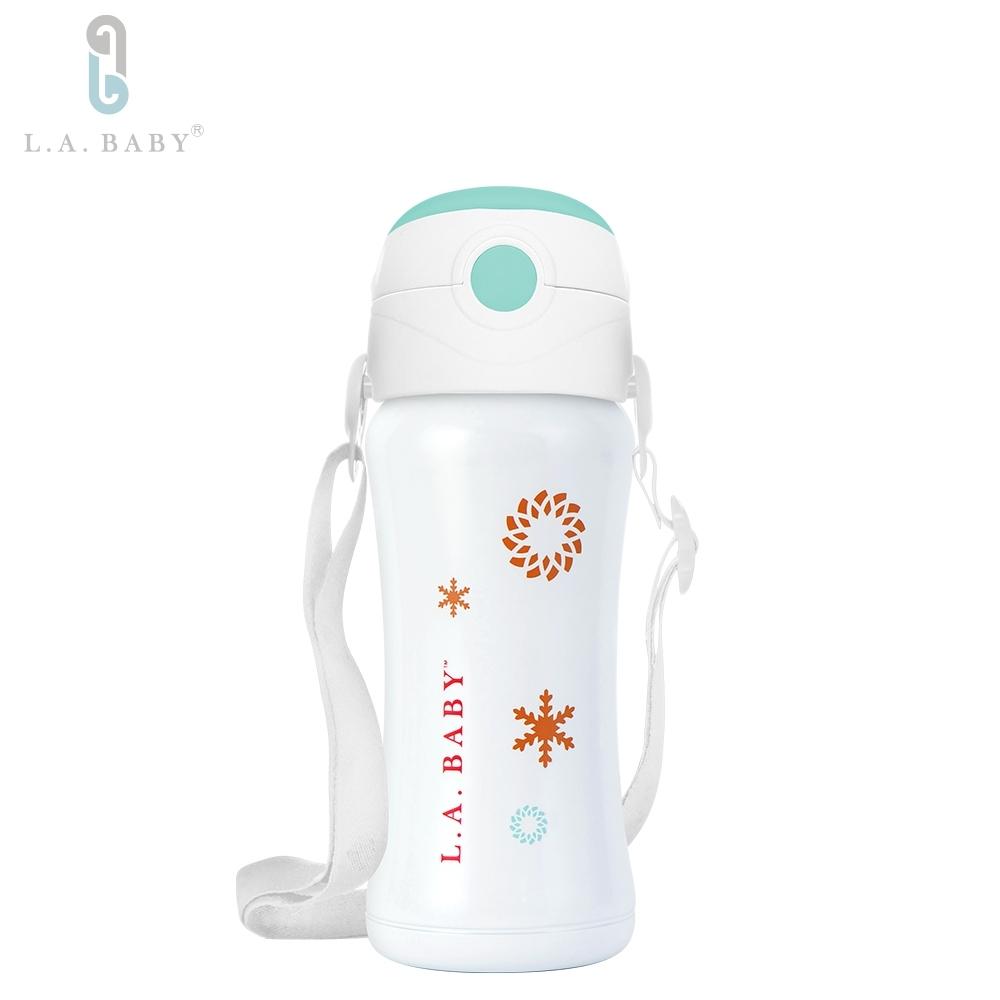 【美國L.A. Baby 】316超輕量保溫保冷兒童水壺  270ml (9oz) (6色任選)