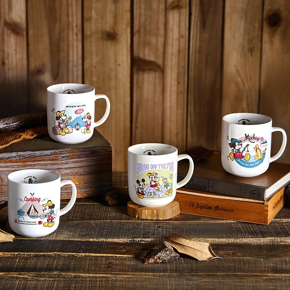 Disney 迪士尼 森遊米奇陶瓷馬克杯420ml(快)