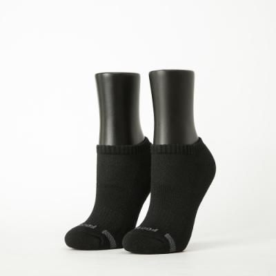 Footer除臭襪-單色運動逆氣流氣墊船短襪-六雙入(黑*2+深灰*2+淺灰*2)