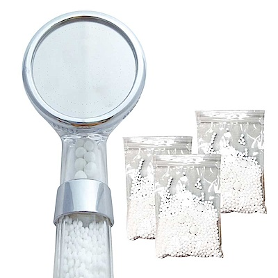 WaterMore水摩爾日本亞硫酸鈣濾芯淨水蓮蓬頭贈濾球包3包