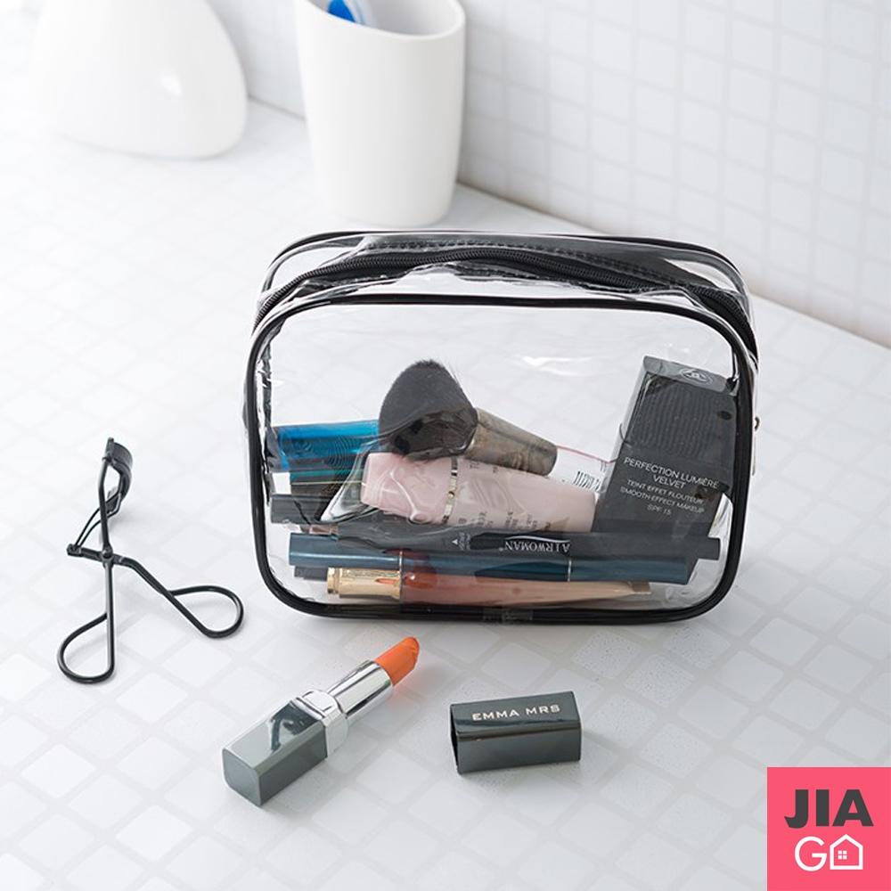 JIAGO 透明防水化妝包-小號