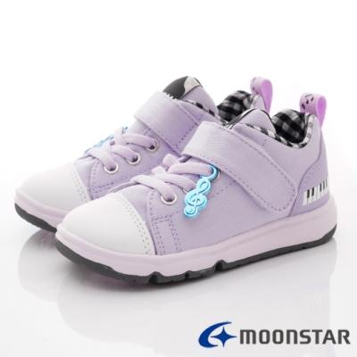 日本Carrot機能童鞋 2E玩耍音符系列鞋款 TW2671紫(中小童段)