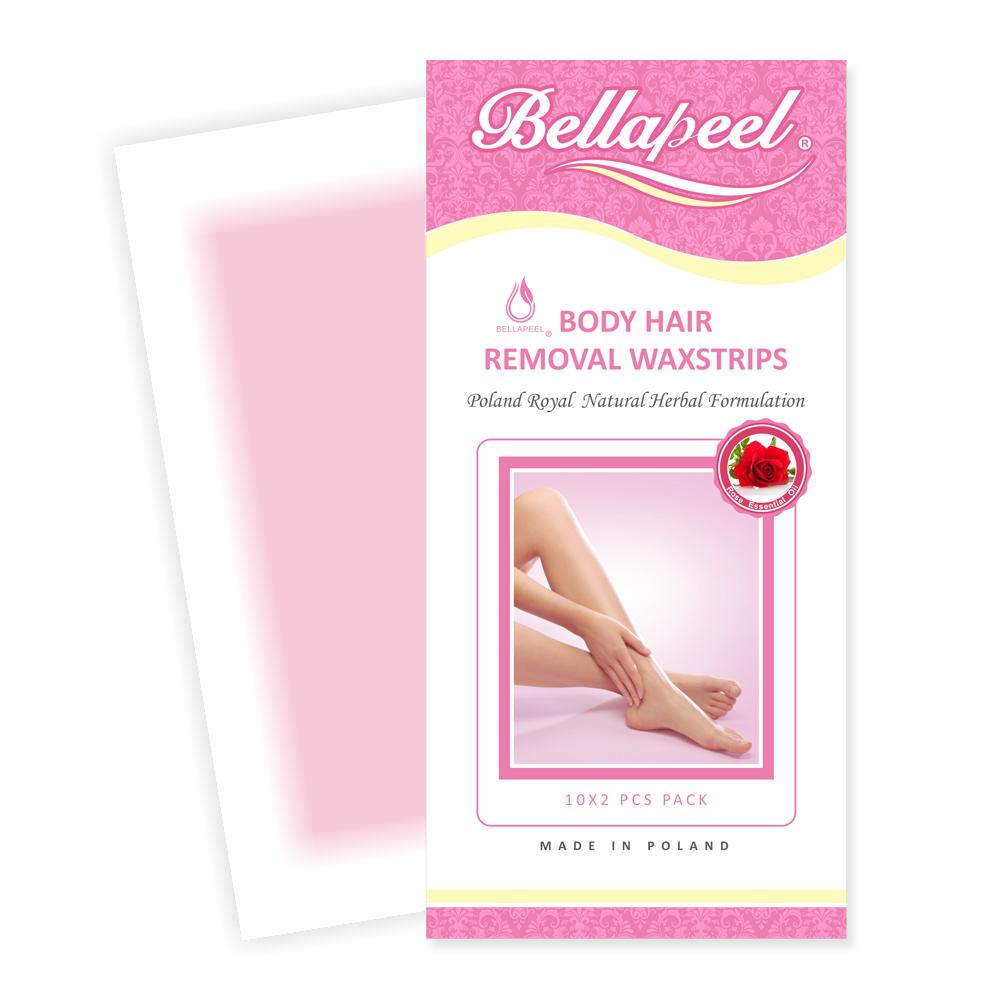 Bellapeel 蓓拉佩爾玫瑰精油脫毛蠟紙10x2pcs/盒