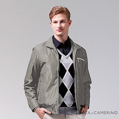 ROBERTA諾貝達 進口素材 禦寒必備 內刷毛夾克外套ROC70-87淺褐