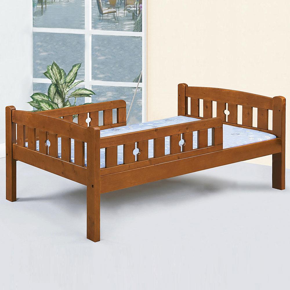 Homelike 波娜護欄床架組-單人3.5尺(不含床墊) @ Y!購物