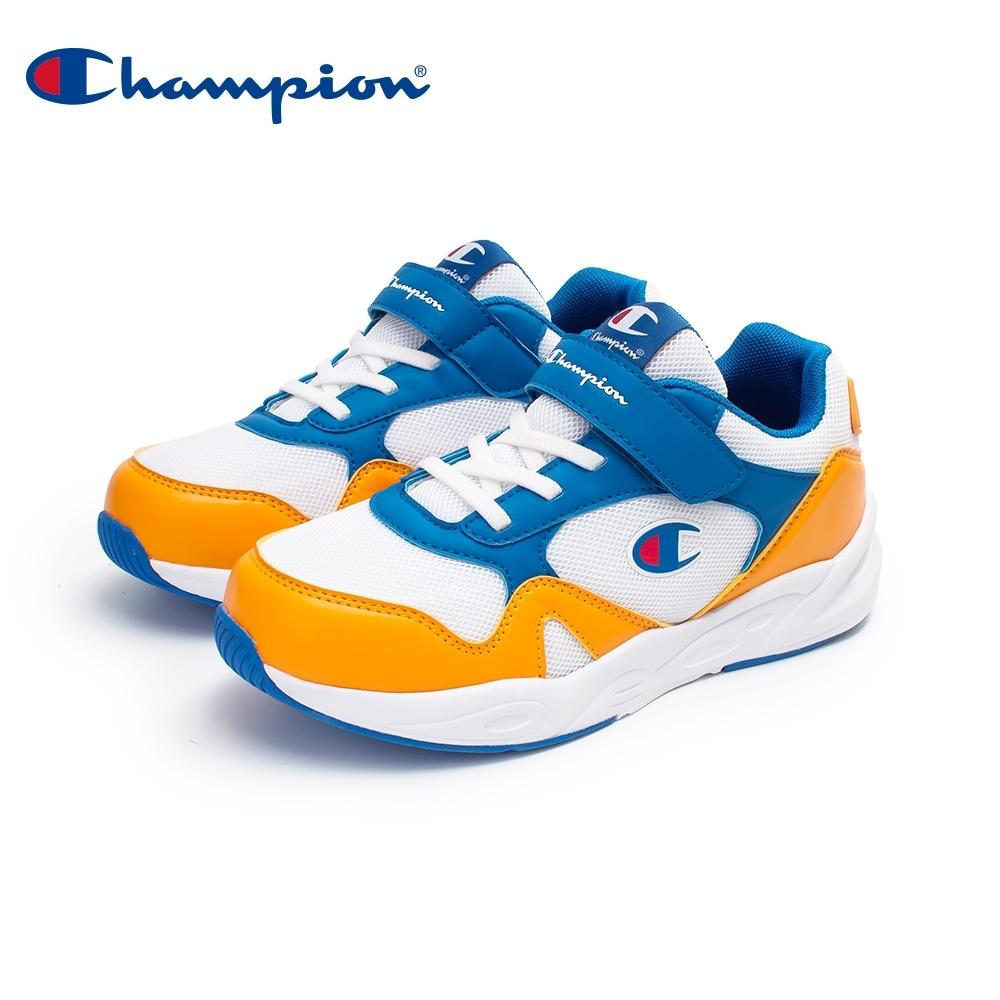 【Champion】MOUNTAIN RANGE 運動鞋 大童鞋-白/黃/藍(KFUS-0382-96)