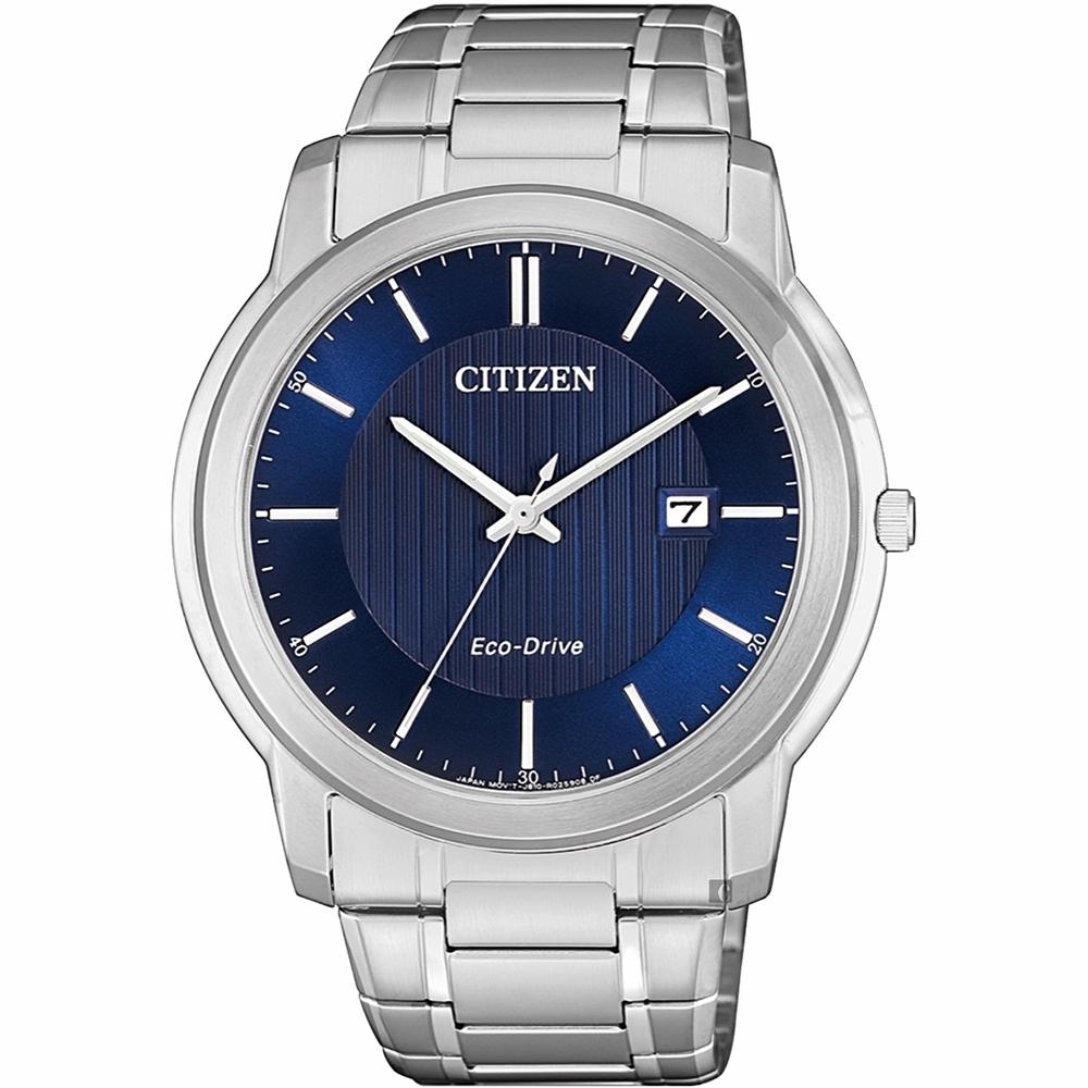 CITIZEN 星辰 光動能紳士手錶-42mm(AW1211-80L)