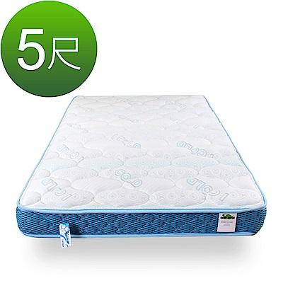 KiwiCloud專業床墊-比利時乳膠兒童超薄型13cm獨立筒彈簧床墊-5尺標準雙人 @ Y!購物