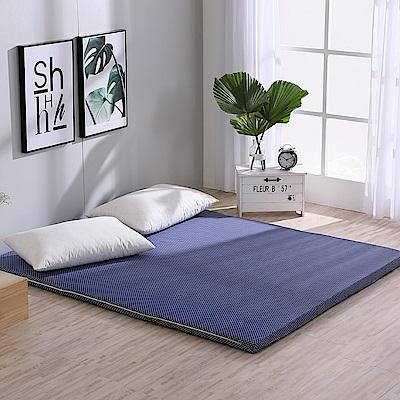 LAMINA 雅蓆兩用床墊圓點普普-藍(雙人)