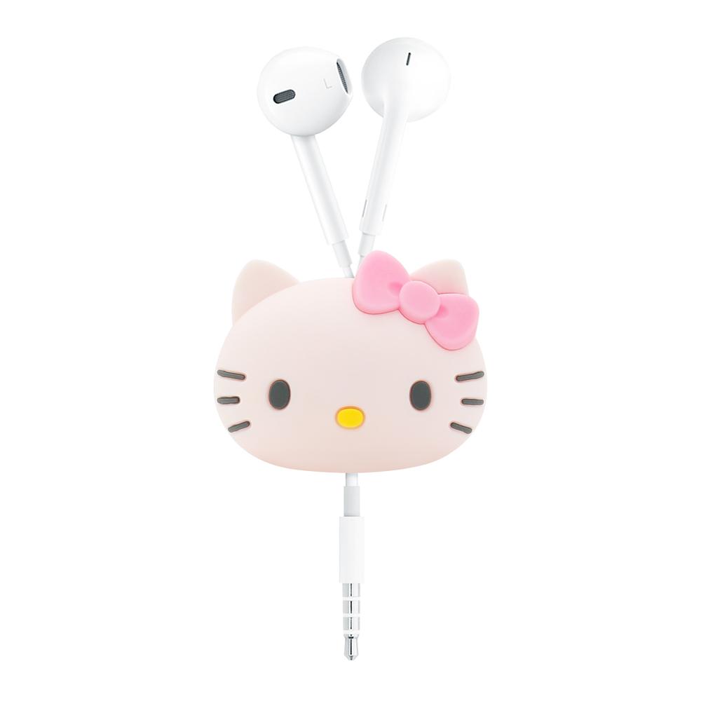 GARMMA Hello Kitty 立體公仔捲線器 蝴蝶粉 @ Y!購物