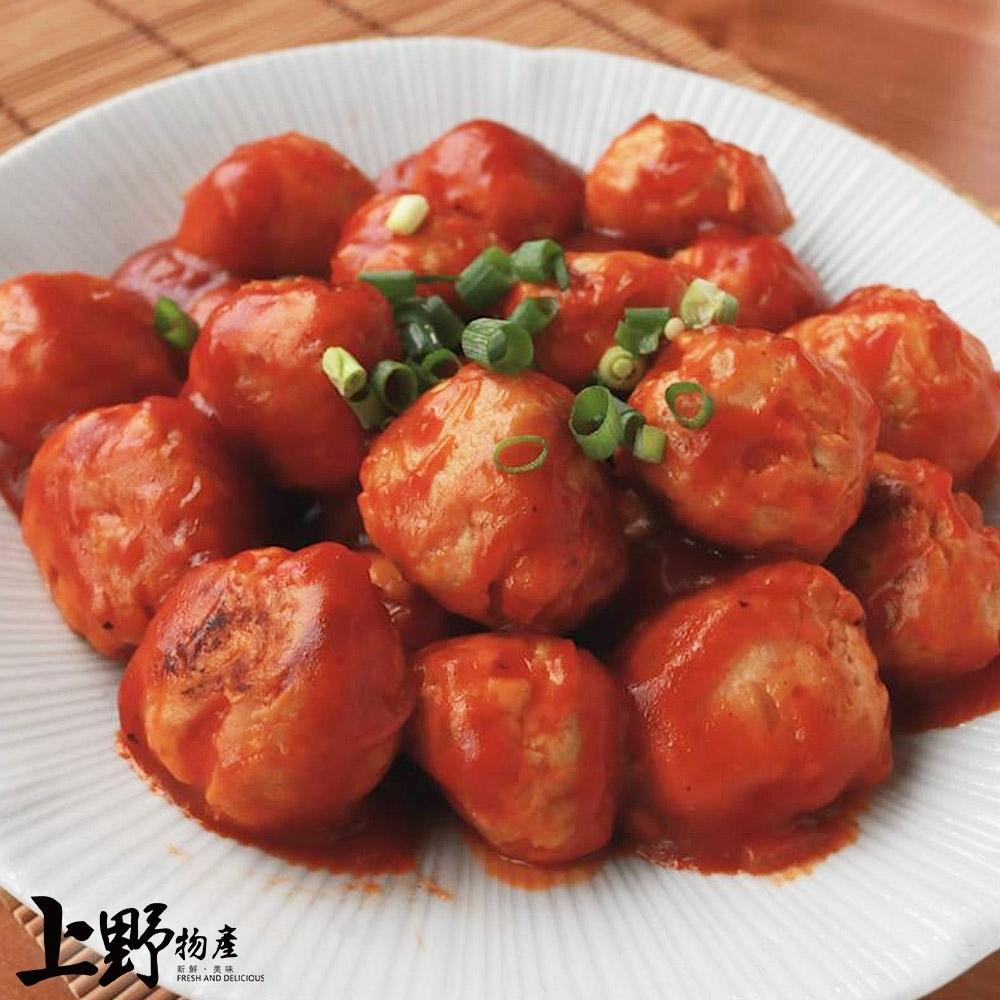 【上野物產】 新鮮台灣雞肉丸子 ( 30g±10%/顆 )x30顆