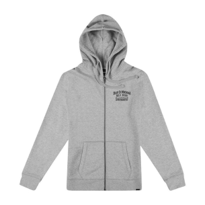 Deus Ex Machina Backwards Zip Hoodie 連帽外套-男/女(灰)