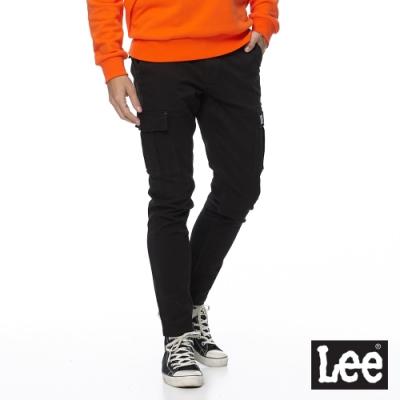 Lee 休閒褲 802 男 黑  彈性褲款