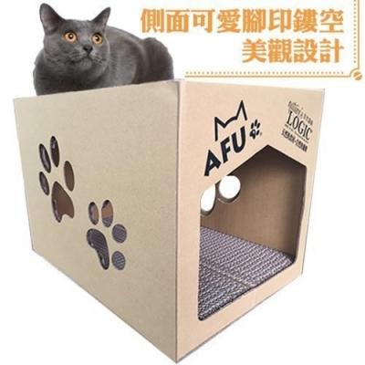 LOGIC自然邏輯AFU大貓屋/胖胖貓屋 貓抓板(兩入組)