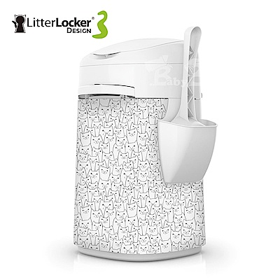 LitterLocker® Design 第三代貓咪鎖便桶 貓群款