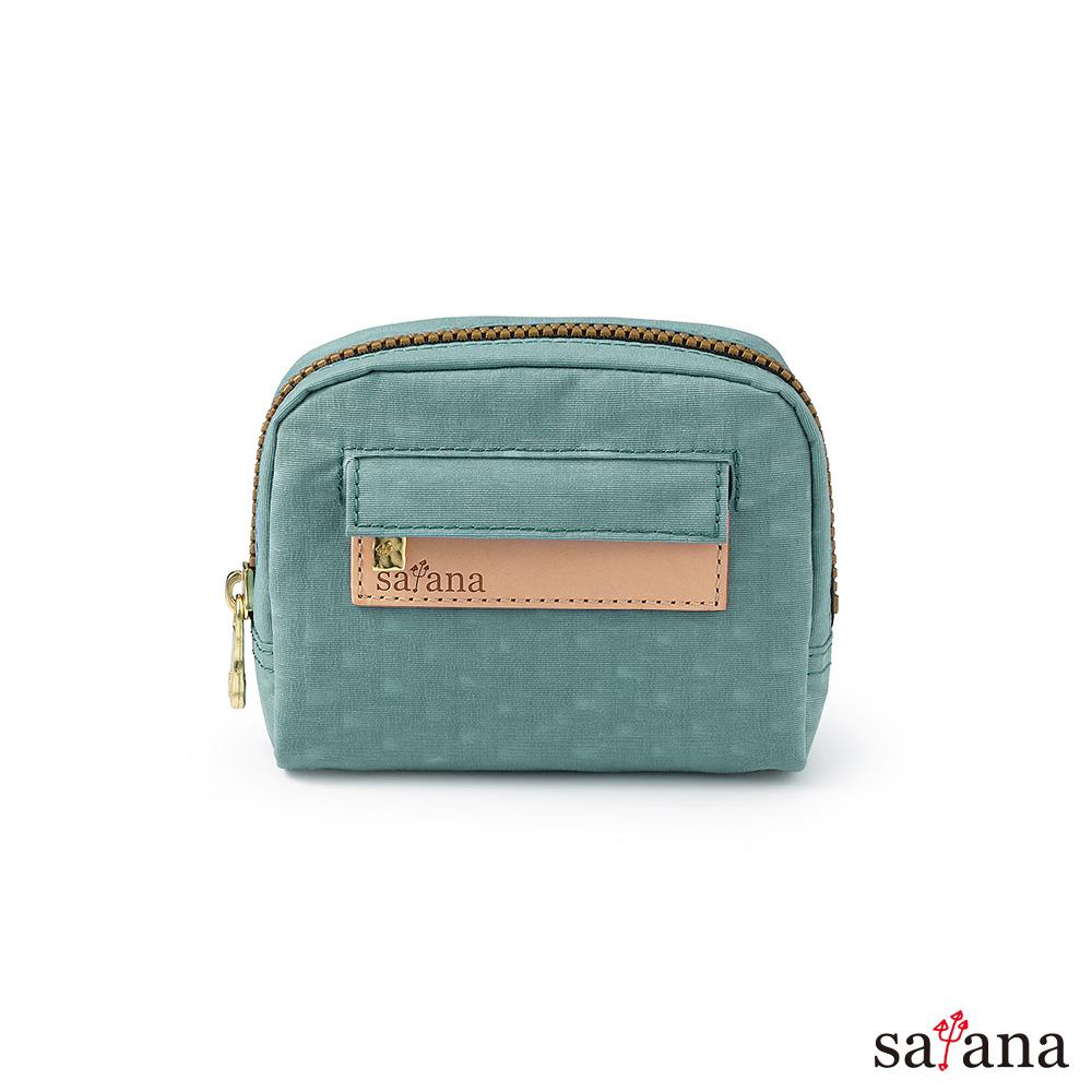 satana - Soldier Mini隨身化妝包/零錢包 - 礦石藍