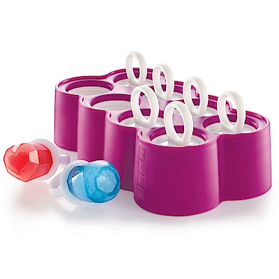 麗嬰房ZOKU鑽戒冰棒模具組8入
