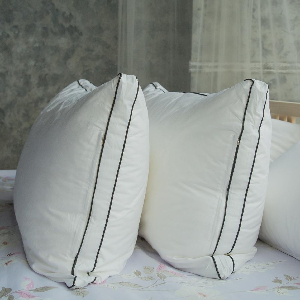 Adorar愛朵兒 可水洗純棉柔軟科技羽絲絨枕(2入)