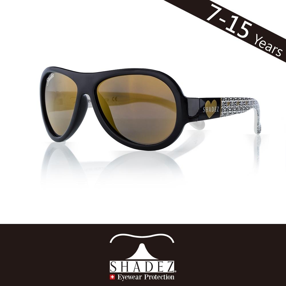 瑞士 SHADEZ 兒童太陽眼鏡 【圖騰設計款-金色愛心 SHZ-71】7 - 15歲