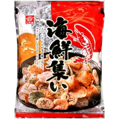 三河屋 海鮮風味仙貝(118g)