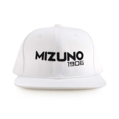 MIZUNO 1906系列運動帽 白黑