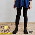 GIAT台灣製暖力守護裡起毛褲襪(兒童褲襪款-黑色)