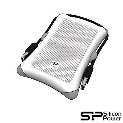 SP廣穎 Armor A30 2TB(白) 2.5吋軍規防震行動硬碟
