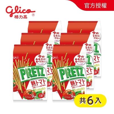 PRETZ百力滋 9袋入蕃茄野菜棒(134g)x6入
