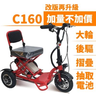 Suniwin 尚耘國際折疊三輪電動車c160/迷你電動車/老年代步車/出遊代步車