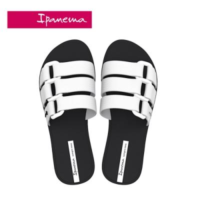 Ipanema BOLD 造型一字拖-黑白
