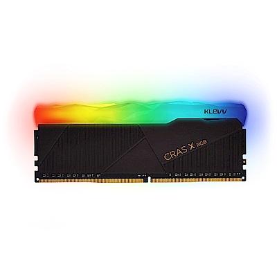 KLEVV 科賦 CRAS X RGB DDR4 3200 8Gx2 桌上型電競超頻記憶體