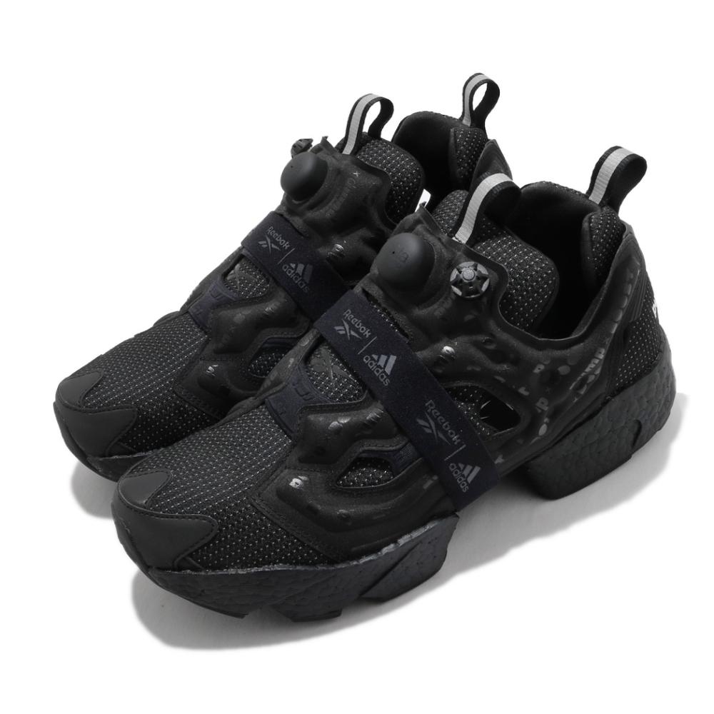 Reebok 休閒鞋 Instapump Fury 運動 男女鞋 Boost中底 避震 充氣科技 情侶款 黑 白  G57662