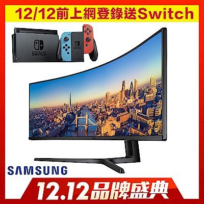 Samsung  49型曲面電腦螢幕 C49J890DKE