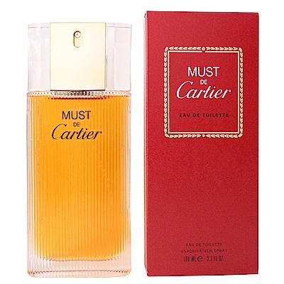 (即期品)Cartier MUST DE Cartier女性淡香水 100 ml