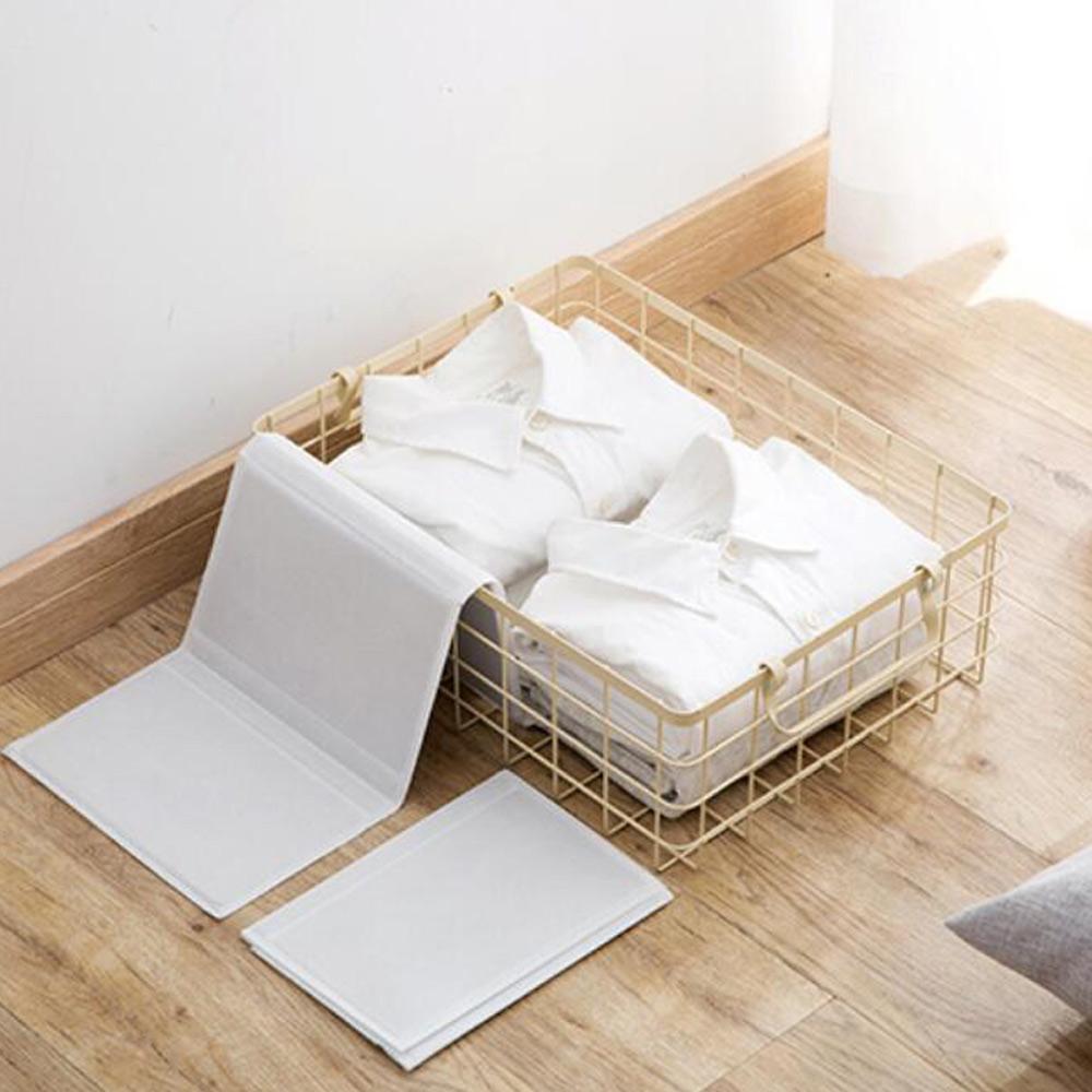 【E-dot】居家創意方便收納摺衣板(10入)