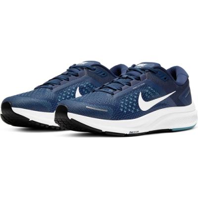 NIKE 慢跑鞋  運動鞋 訓練 健身 男鞋 藍白 CZ6720402 AIR ZOOM STRUCTURE 23