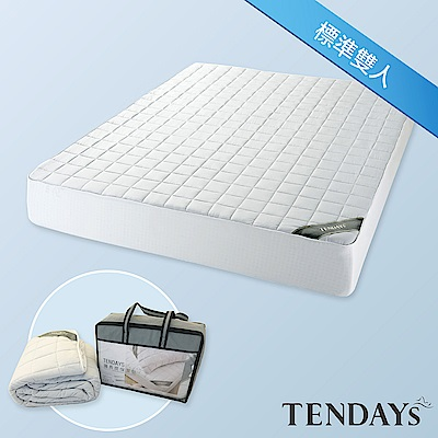 TENDAYS 備長炭床包型保潔墊 標準雙人5尺