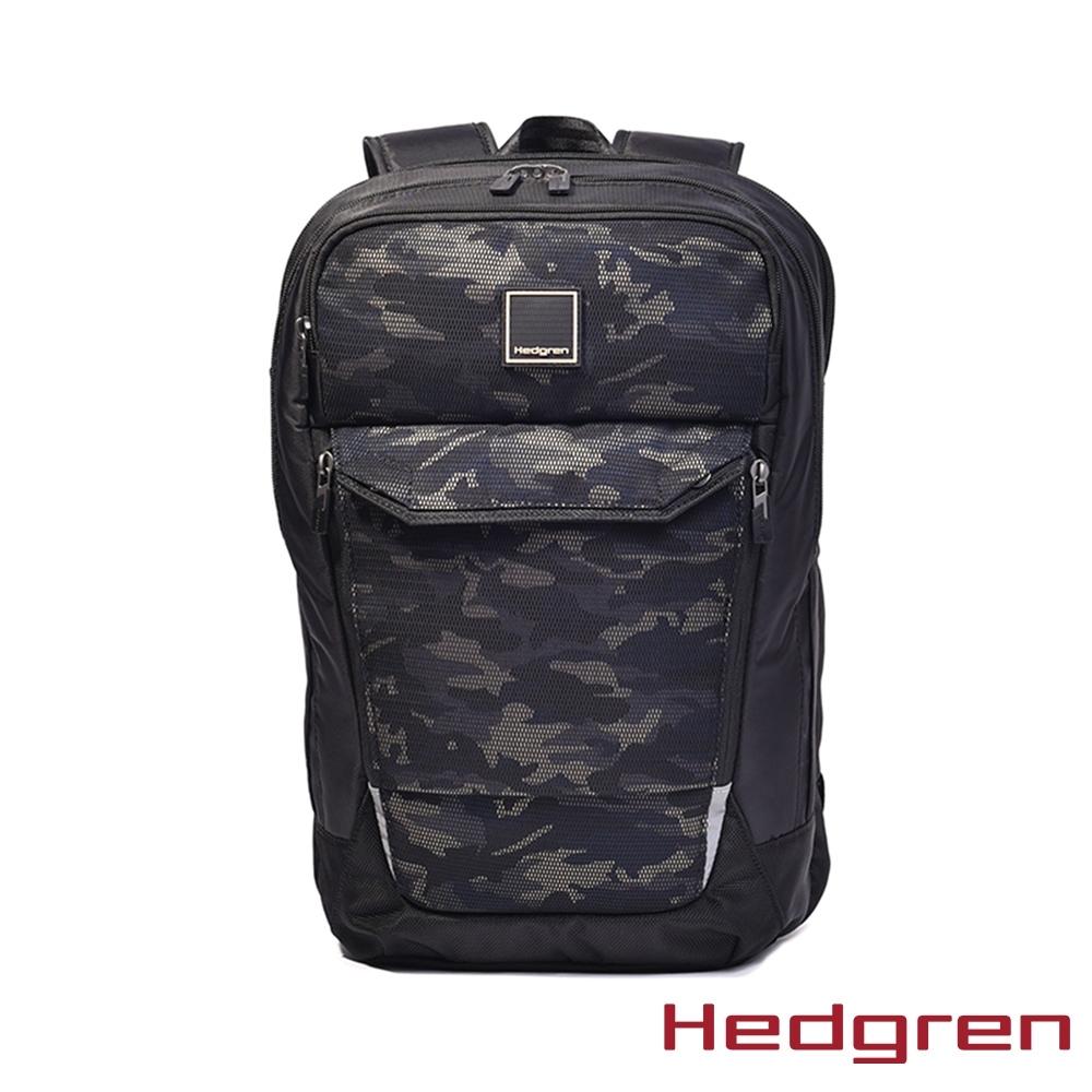【Hedgren】迷彩A4後背包15.6″ – HLNK03 HOOKUP