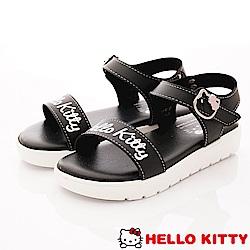HelloKitty童鞋 輕量柔軟中底涼鞋款 EI19238黑(中小童段)