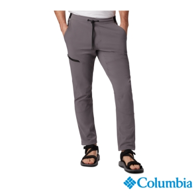 Columbia 哥倫比亞 男款- 防潑長褲 -灰色 UAE02060GY