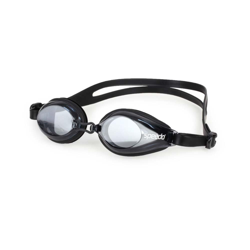 SPEEDO 成人泳鏡 黑白