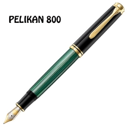 PELIKAN百利金 Souverän Fountain Pen綠桿18k鋼筆*M800
