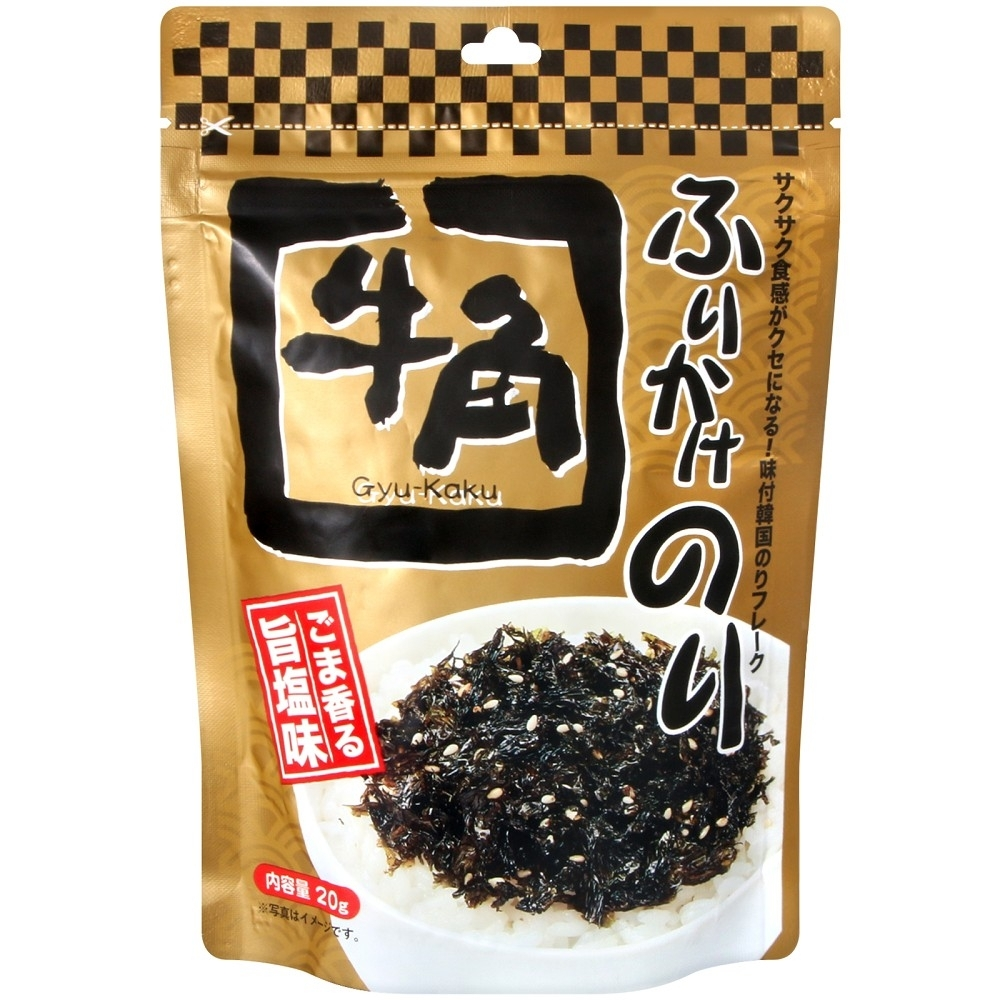 Foodlabel 海苔芝麻風味飯友(20g)