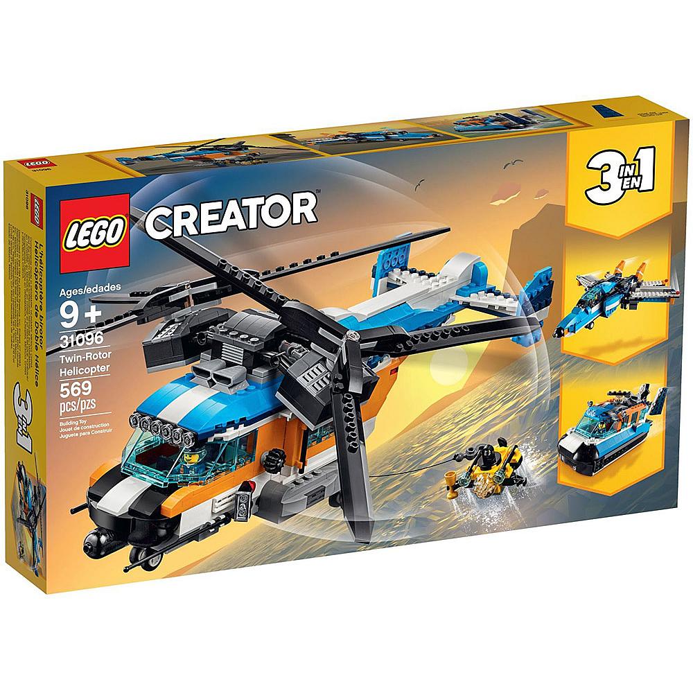 樂高LEGO 創意大師系列 - LT31096 雙螺旋槳直升機